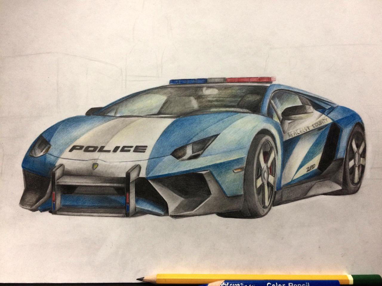 Lamborghini Drawing