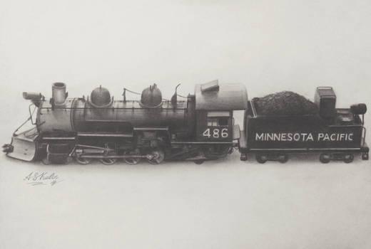 Locomotive drawing