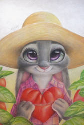 Judy Hopps drawing