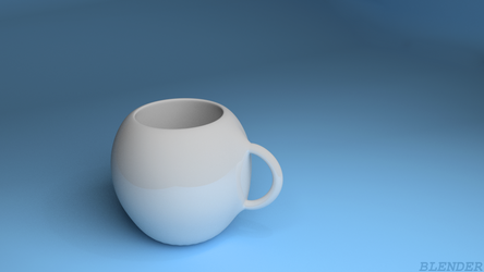 my first work with blender