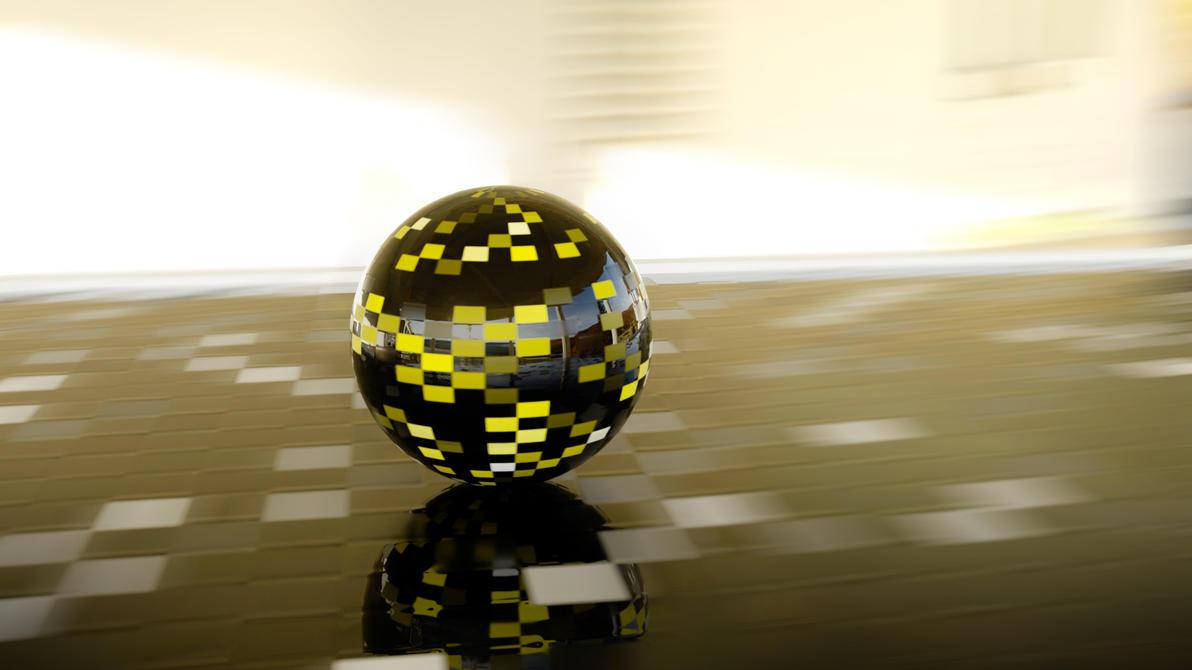Retro ball by feniksas4