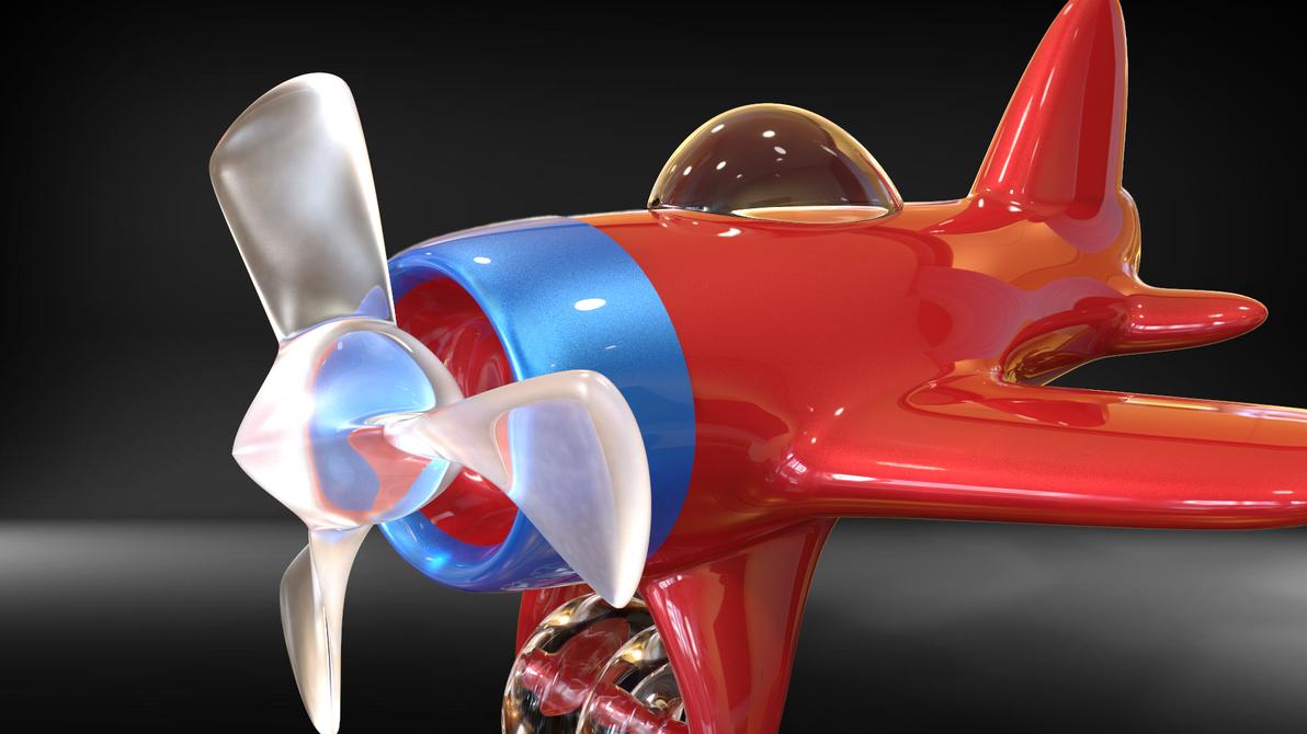 airplane toy by feniksas4