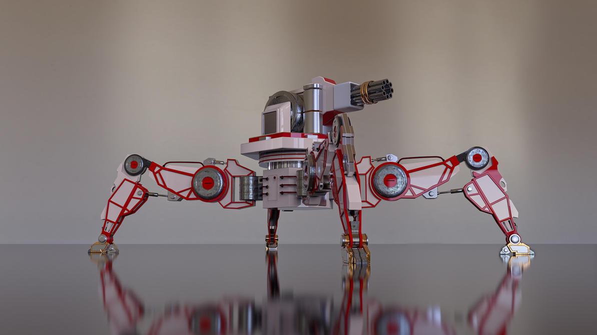 spider robot by feniksas4