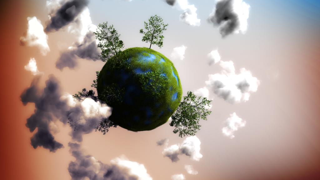 little planet blender by feniksas4