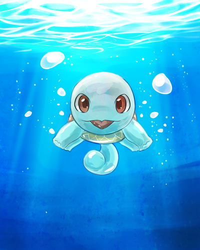 Underwater Squirtle by Chuuco