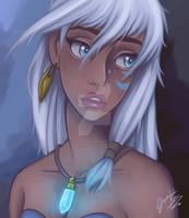 Fan Art of Kida from Disneys Atlantis