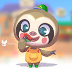 Chibi Animal Crossing Style Commission