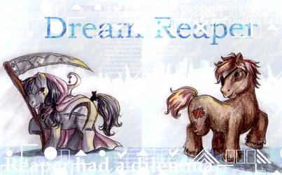 Dream Reaper Ponies by GenkiTenshi