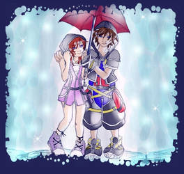 Let the rain fall by GenkiTenshi