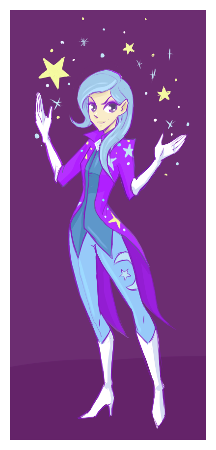 MLP: The Great and Powerful Trixie by lady-largo