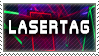 Laertag stamp by Retromissile