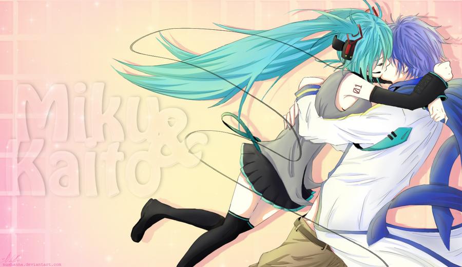 Miku+Kaito by Nushanna