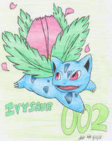 002-Ivysaur by PachirisuLuva