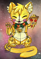 Lucky Pizza Cat~ AC for SalaAlternate! by Retro-Sushi