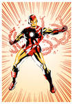 Classic Iron Man by DrumsoftheSerpent