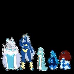 Yuki Onna Obsidian Components - SU Commission