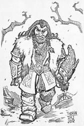 Thorin fanart by RennyManJr