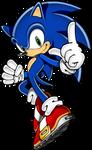 Blue Arms Sonic the Hedgehog - Sonic Rush