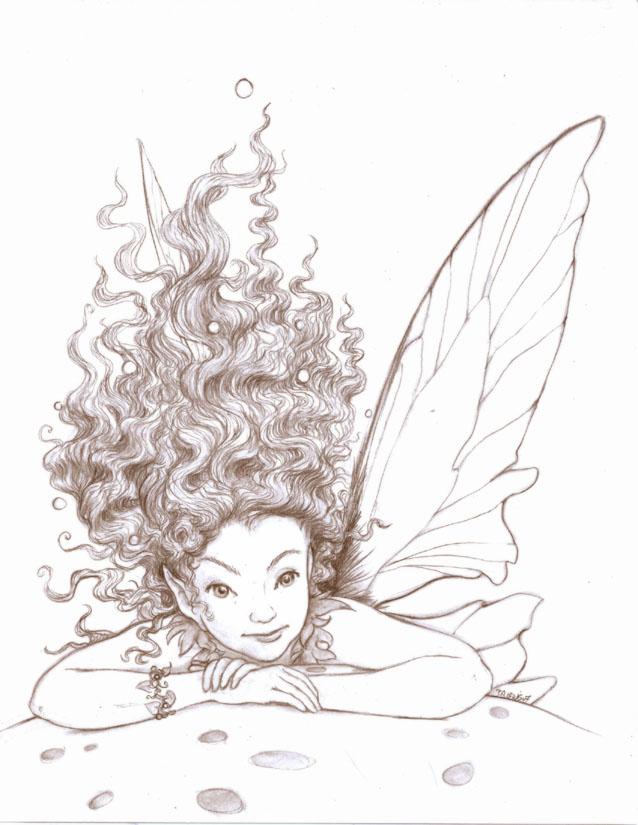 Mushroom Fairy by betta-girl