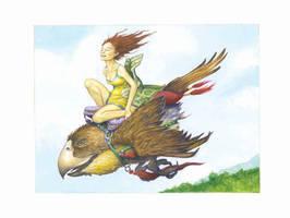 Tori Amos' Shadow Bird 2 by betta-girl