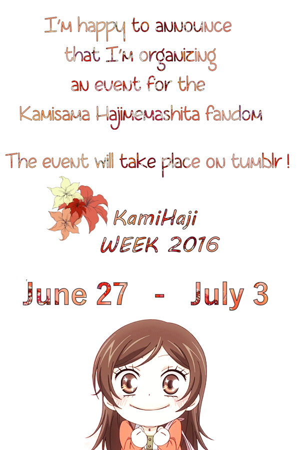 KamiHajiWeek 2016 by Angelhart79