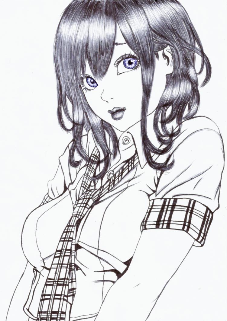 school girl V.2 by carldraw