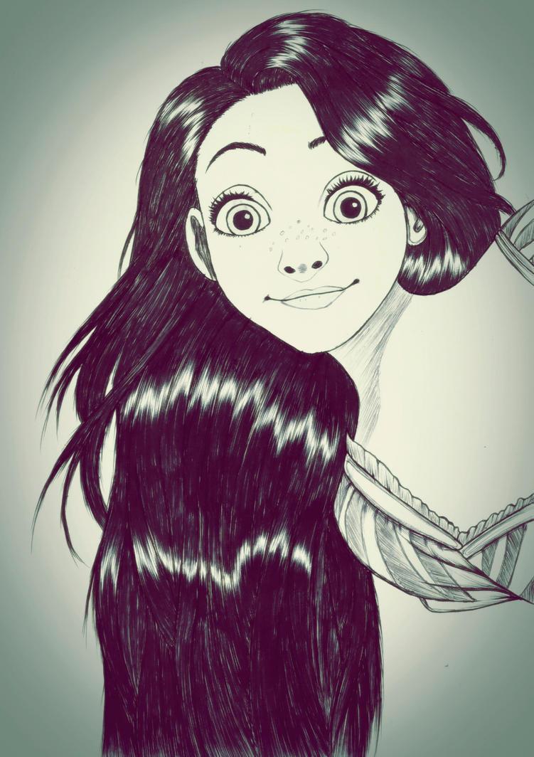 Rapunzel by carldraw