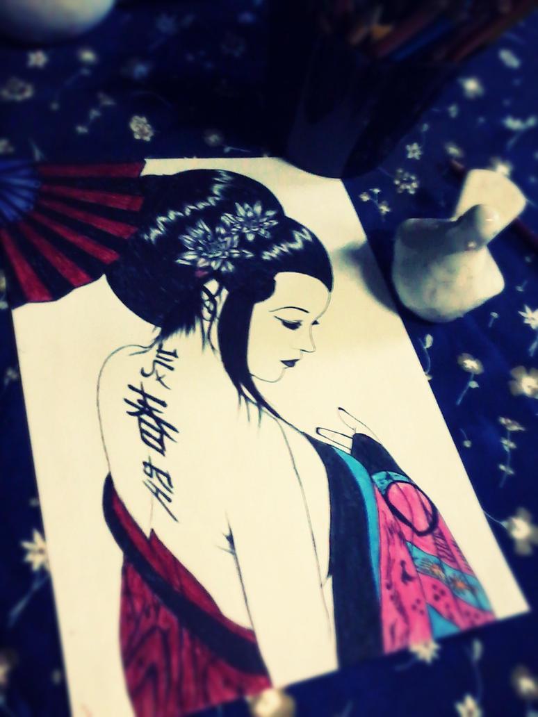 geisha ID by carldraw