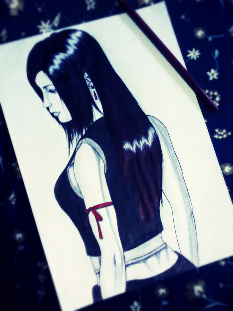 tifa lockhart by carldraw