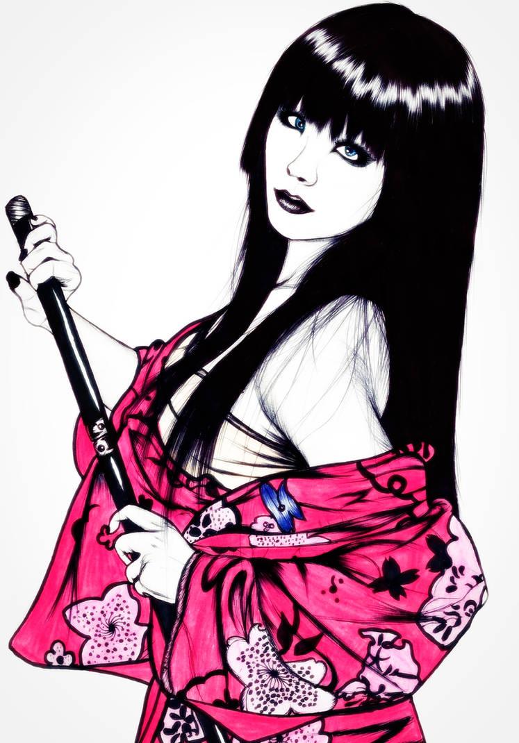 Geisha 2 by carldraw