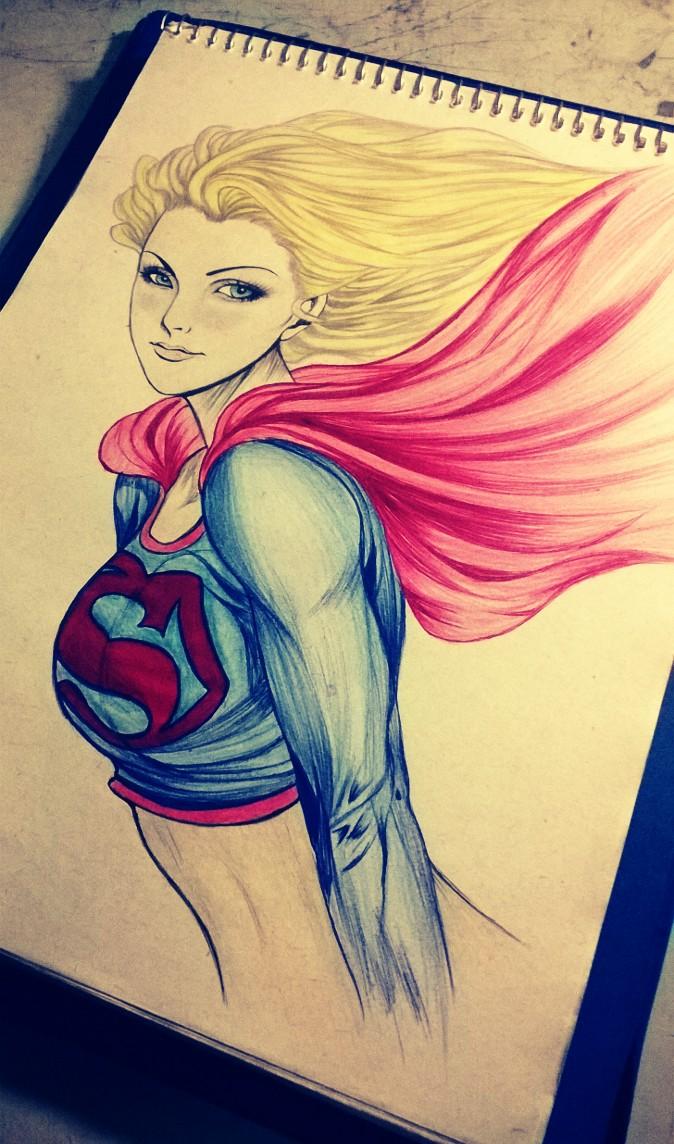 Super Girl PHOTO by carldraw