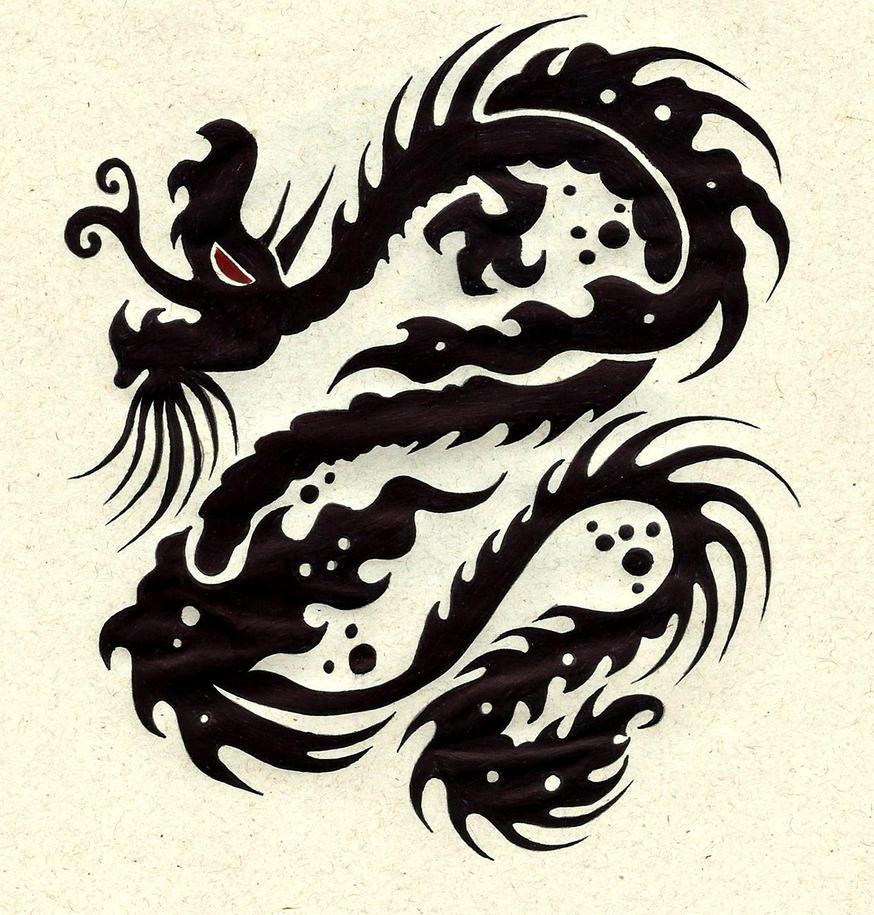 dragon by carldraw