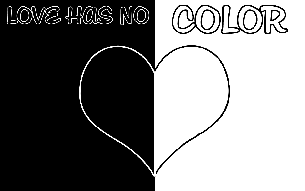Love Knows No Color Quotes: Love Has No Color Wallpaper By PiinkylOve19 On DeviantArt