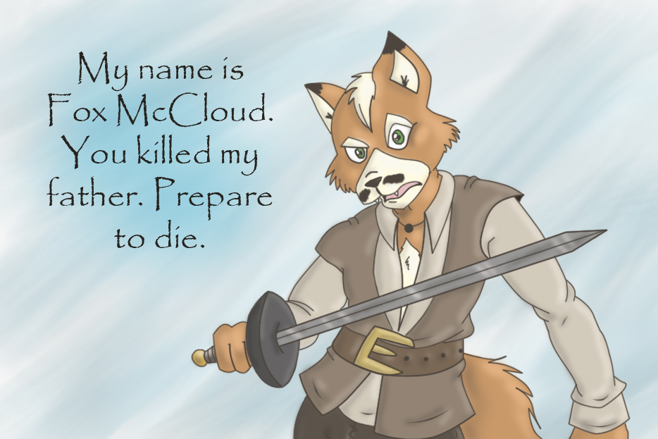 Fox McCloud as... by Mad-But-Happy