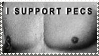 I Support Pecs Stamp by Mad-But-Happy