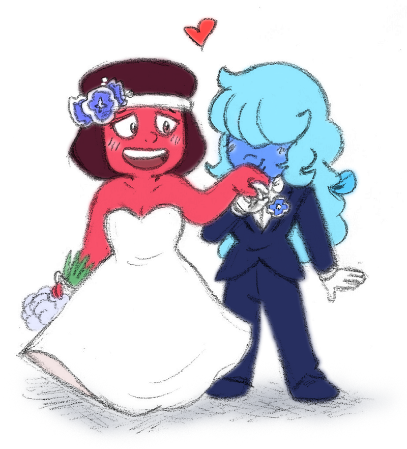 They got married, y'all!