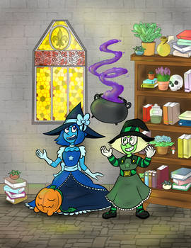 The Alien Witches