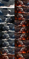 Eruption - steps