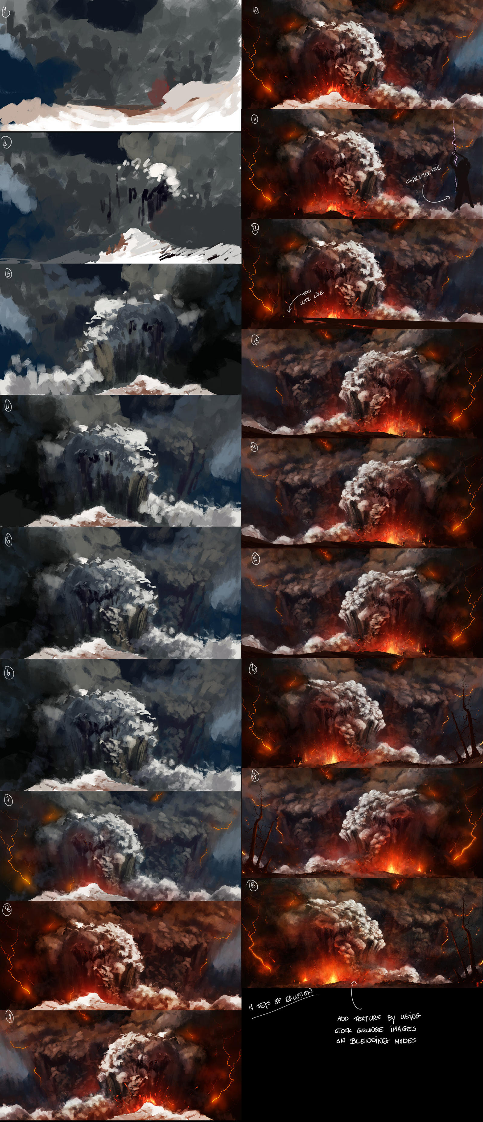 Eruption - steps by TitusLunter