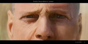 Bruce Willis - 'Looper' Study