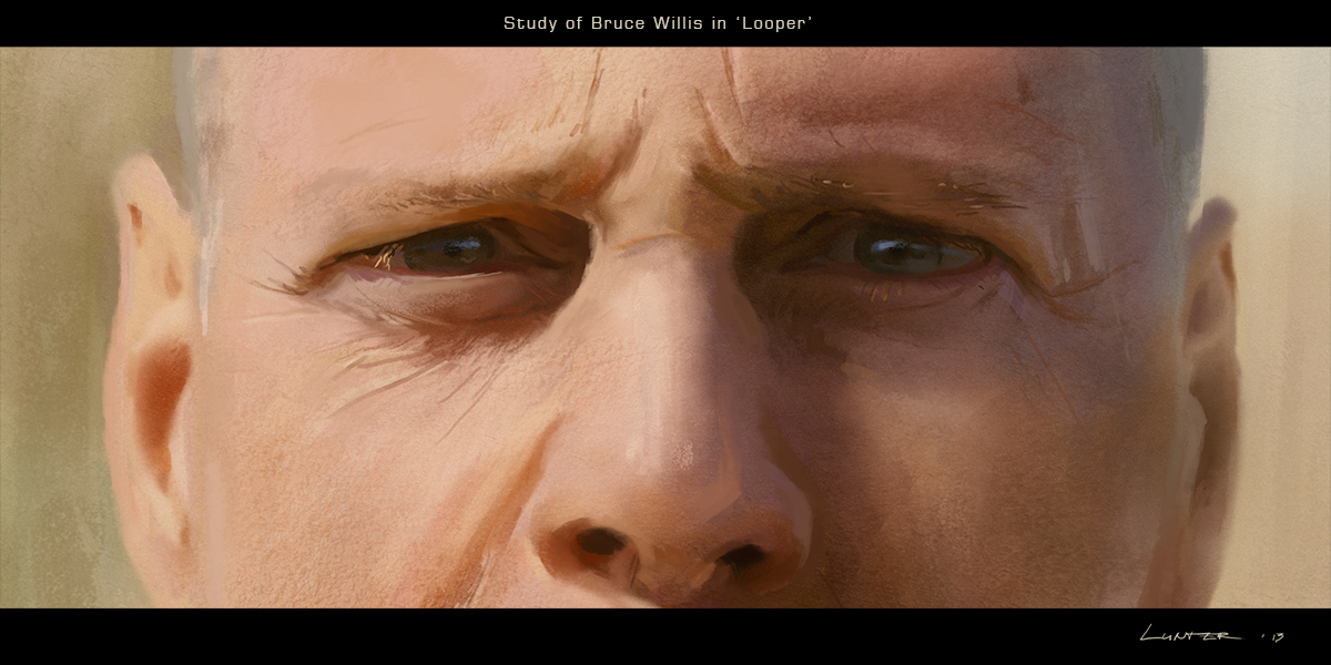 Bruce Willis - 'Looper' Study by TitusLunter