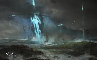 Storm Beacon by TitusLunter