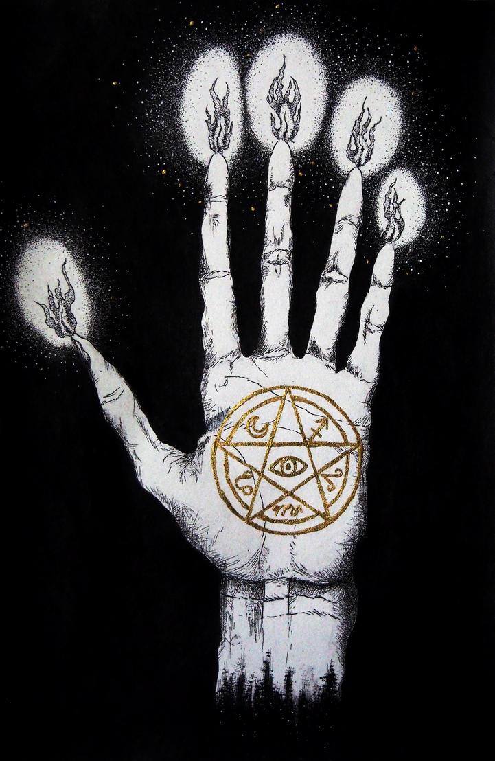 Hand of Glory by jennamoi