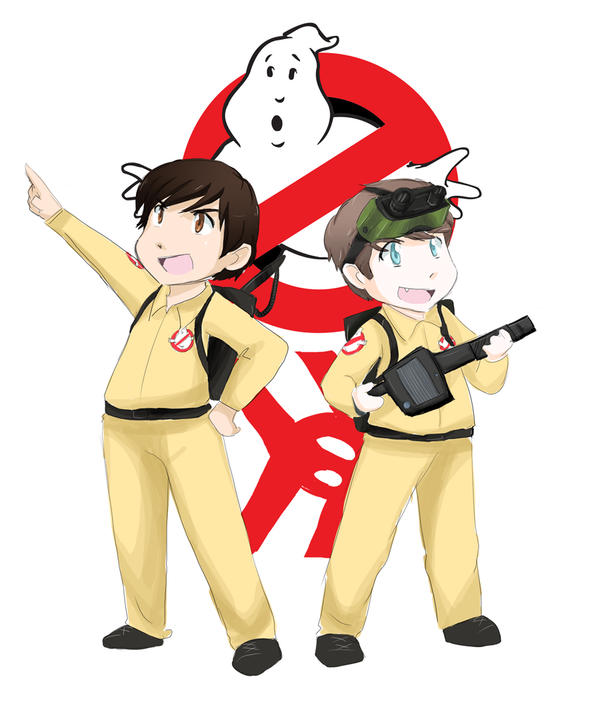 the new ghostbusters by skydrew on deviantart