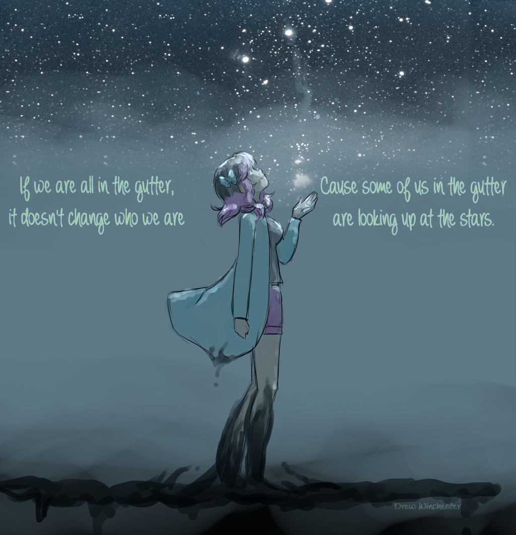 Looking Up At The Stars By Skydrew On Deviantart