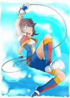 Pokemon Ranger - Dayra by SkyDrew