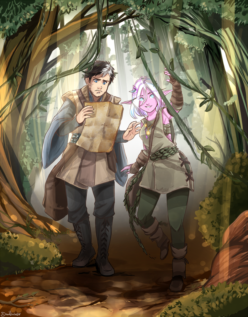 The Tales of Forest Girl and City Boy by SkyDrew