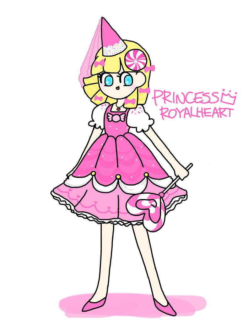 Princess Royal heart by honyaunicorn
