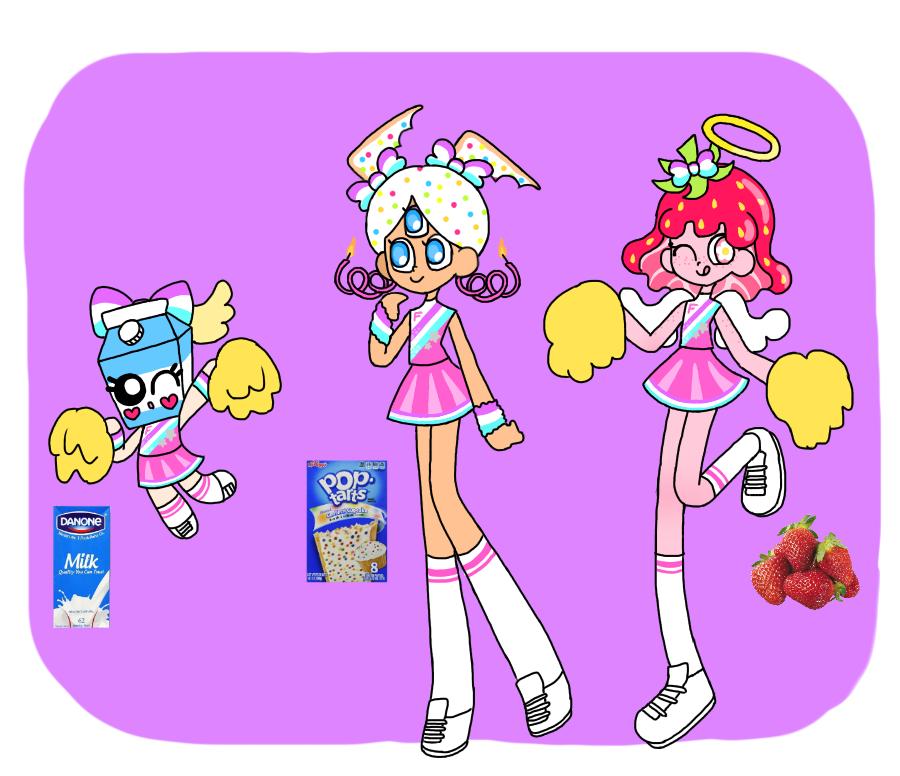 Monster cheergirls 1 by honyaunicorn