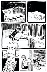 Inktober Days 1-4, page 1